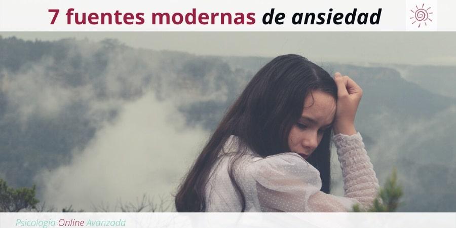 7 Fuentes modernas de ansiedad y cómo afrontarlas, Ansiedad, Pensamiento, Técnicas de relajación, Hogar, Terapia Online.
