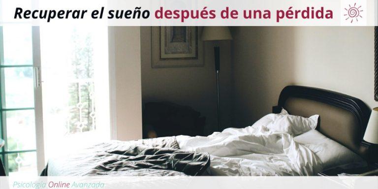 Cómo recuperar el sueño después de una pérdida, Superar el duelo, Dolor, Pérdida, Depresión, Negación, Ira, Aceptación, Ciclo, Proceso, Esperanza, Superación