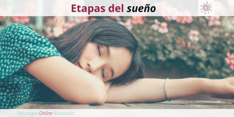 Etapas del sueño, problemas de sueño, falta de sueño, Terapia online, Beneficios del sueño, Insomnio, Dormir mejor, Sueño reparador, mejorar el sueño