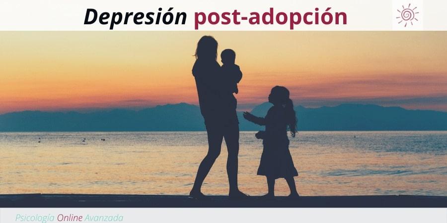 Factores que contribuyen a la depresión post-adopción, Depresión, Ansiedad, Tristeza, Alteración de sueño, Cambios de ánimo, Agotamiento, Terapia Online