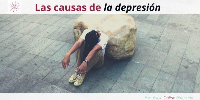 Hablemos sobre algunas de las causas de la depresión, Depresión, Ansiedad, Tristeza, Alteración de sueño, Cambios de ánimo, Agotamiento, Terapia Online