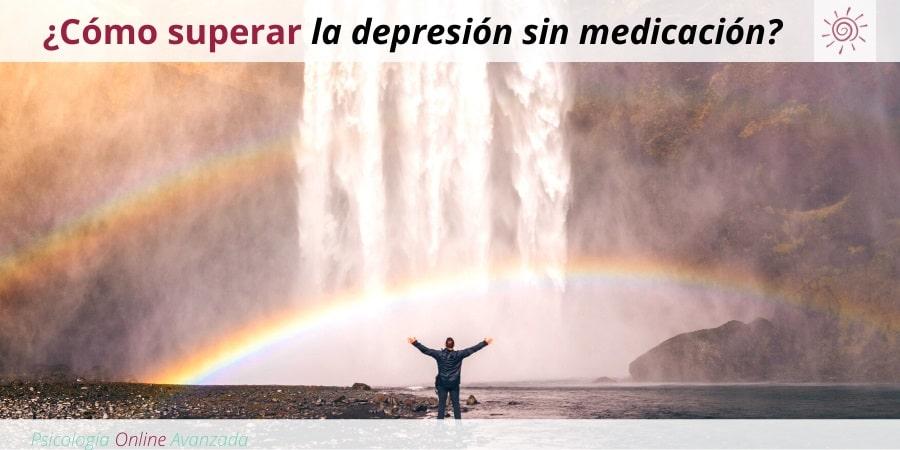Pregunta a un terapeuta: ¿Cómo puedo superar la depresión sin medicación?, Depresión, Ansiedad, Tristeza, Alteración de sueño, Cambios de ánimo, Agotamiento, Terapia Online