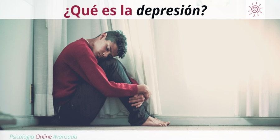 Qué es la depresión?, Ansiedad, Tristeza, Alteración de sueño, Cambios de animo, Agotamiento, Terapia Online