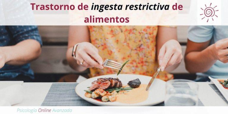 Trastorno de ingesta restrictiva de alimentos, Mala alimentación, Alimentación, Bajo peso, Obesidad, Anorexia, Bulimia, Atracón, Anorexia Nerviosa, Bulimia Nerviosa, Purgas, Ejercicio Excesivo, Vomito Inducido, Comer en exceso.